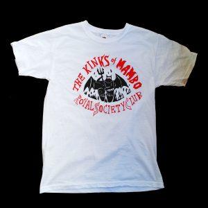 The Kinks of Mambo Royal Society Club T-Shirt (White)