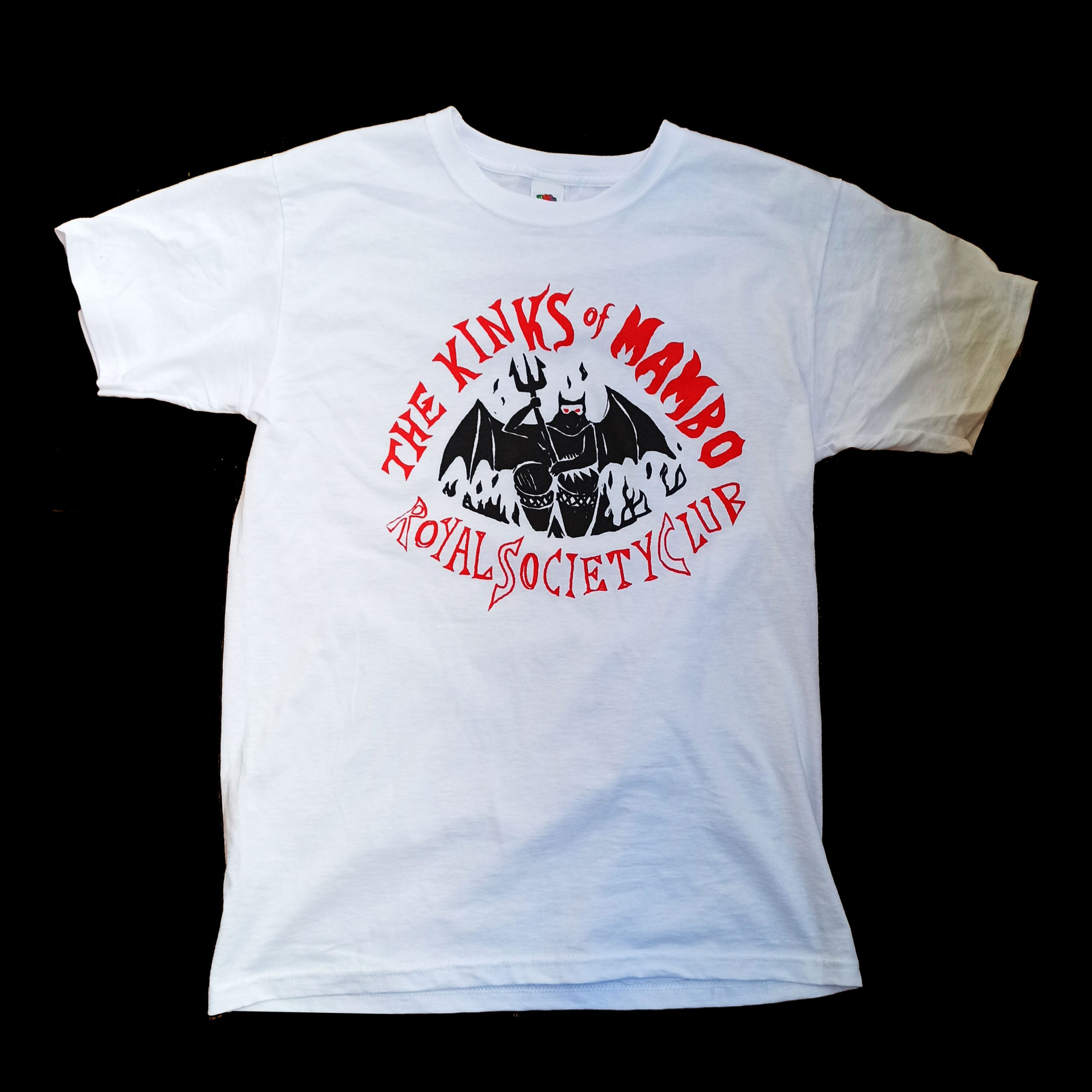 The Kinks of Mambo Royal Society Club T-Shirt (White)