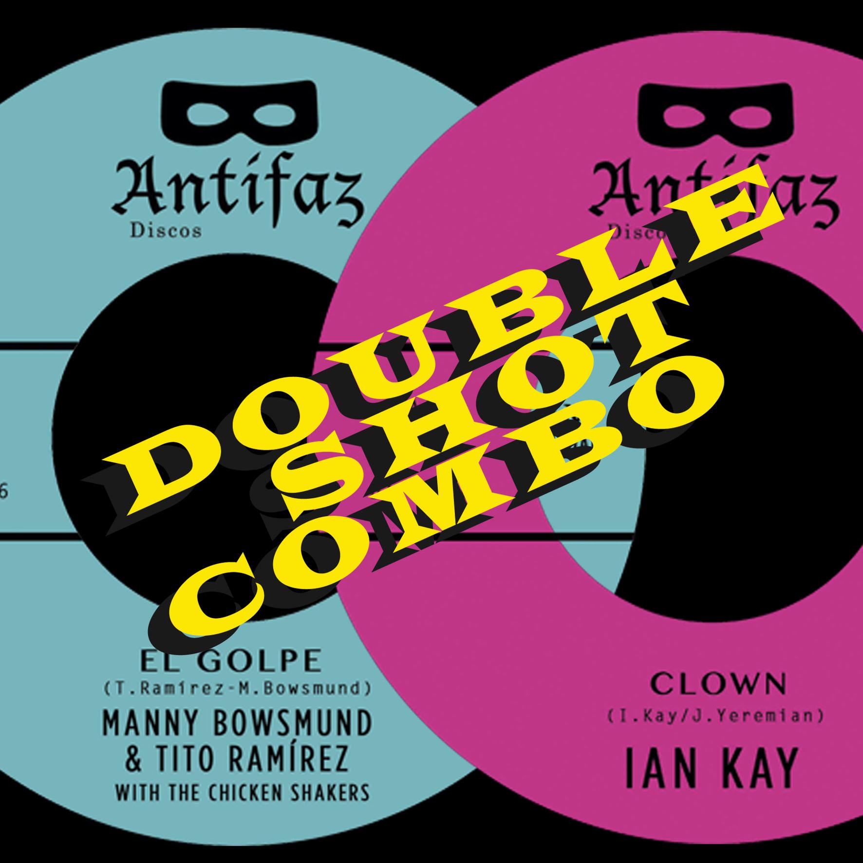 DOUBLE SHOT COMBO!! BONUS PACK!! Manny Bowsmund + Ian Kay